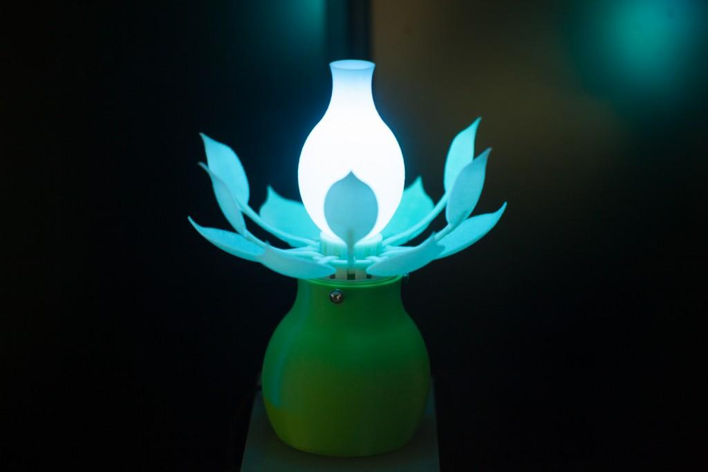 Mental Blossoming lamp demo image